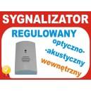 Sygnalizator wewnętrzny HC-201 Regulowany
