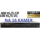 Rejestrator BCS DVR 1604M HDMI 16 kanałowy