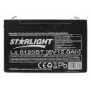 Akumulator 6V 12Ah żelowy STARLIGHT