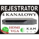 Rejestrator DVR BCS DVR 0402Q 100 kl/s w D1