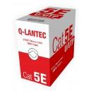Kabel skrętka U/UTP kat.5e PVC 4PR Q-LANTEC 305m