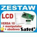 Centrala Alarmowa VERSA10 komplet LCD-GR OPU-4P