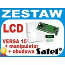 Centrala Alarmowa VERSA15 komplet LCD-GR OPU-4P