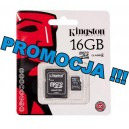 Karta microSD Kingston 16GB